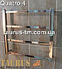 Маленький водяной полотенцесушитель для ванной комнаты Quatro 4/400., фото 3
