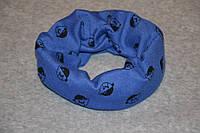 Детский шарф снуд осенний