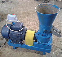 Гранулятор топливных пеллет 380 В, 11 кВт (матрица 200 мм, 300 кг/час)