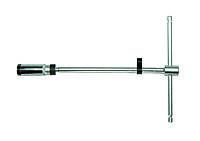 """3/8"""" Ключ свечной Т-образный с карданом (шарнирная фиксация) 16 мм L=300 мм"""