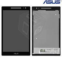 Дисплейный модуль (дисплей + сенсор) для Asus ZenPad 8.0 Z380C / Z380KL, черный, оригинал