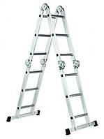 Лестница шарнирная WERK LC 2412 (4*3)