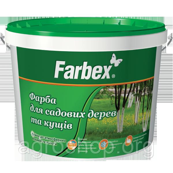 "Краска для садовых деревьев ТМ ""Farbex""1,4 кг"