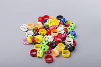 Декоративное силиконовое кольцо Vape Band (широкое, разные цвета)