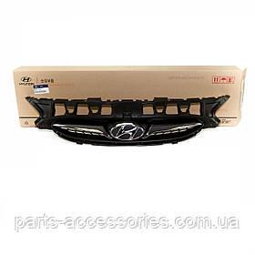 Решітка радіатора Hyundai Accent 2012-14 нова оригінал