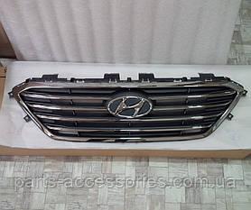 Решітка радіатора для Hyundai Sonata 2015-2017 нова оригінал