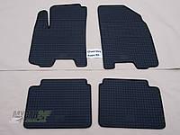 Резиновые ковры в салон Chevrolet Aveo 04- (LUX) кт-4 шт.