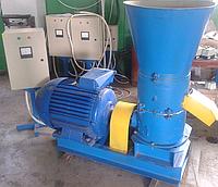 Гранулятор топливных пеллет 380 В, 37 кВт (матрица 400 мм, 1200 кг/час)