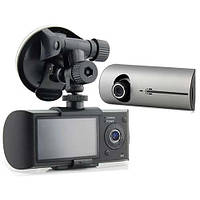 """Видеорегистратор GPS Х3000, обзор 140 градусов, 2 камеры, микрофон, экран 2,7"""", порт USB 2.0, G-датчик"""