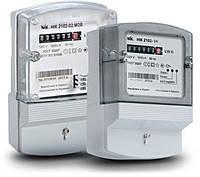 Счетчик электроэнергии НИК 2102-02 М1В 5(60)А 1ф электронный однотарифный (один элемент защиты)