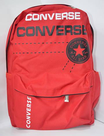 Рюкзак 057 Converse красный, фото 2
