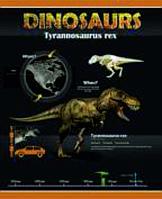 """Тетрадь 60 листов клетка """"Динозавры"""" (TA5.6011.1887)"""