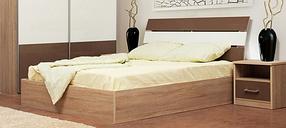 Кровать 2-сп Элегант (Світ Меблів TM)