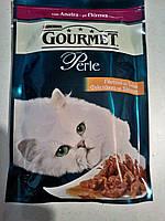 Gourmet Perle (Гурме перл) мини-филе с уткой - влажный корм для кошек