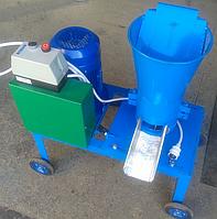 Гранулятор кормовых гранул 220 В, 4 кВт (матрица 160 мм, 120 кг/час)