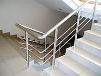 Ограждения лестничных маршей, площадок, балконов из анодированного профиля