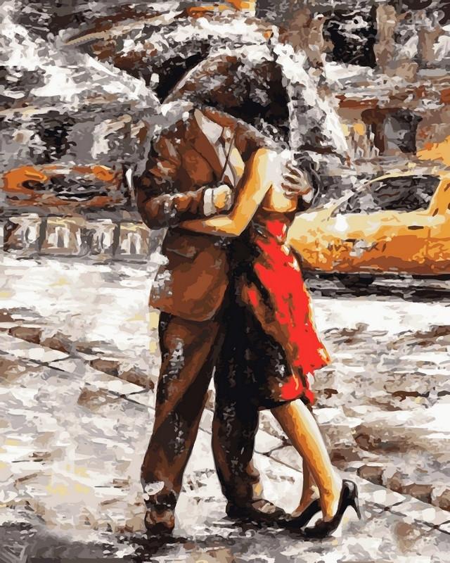 "Картина для рисования ""Летний дождь"" худ. Имре Тот (VP510) Турбо 40 х 50 см"
