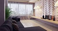 Декоративные панели из гипса Переплет