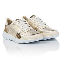 Очень удобные кроссовки 2016 года Favi (золотистого цвета, легкие, стильные, практичные, модные)