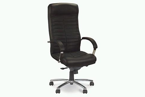 Кресло кожаное для руководителя «Orion steel chrome» SP