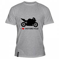 Мотофутболка I Love Motorcycle