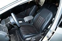"""Модельные чехлы Volkswagen Touran IT3 / Фольксваген Тауран 2010- """"Алькантара"""", фото 1"""