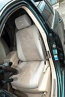 """Модельные чехлы Volkswagen Touareg I / Фольцваген Таурег 2002-2010 """"Нубук"""" , фото 1"""