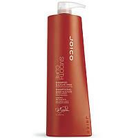 Шампунь разглаживающий для кудрявых, пушащихся, жестких волос без сульфатов Joico Smooth Cure Shampoo 1000мл