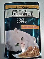 Gourmet Perle (Гурме перл) мини-филе с курицей- влажный корм для кошек