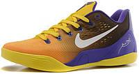 Баскетбольные кроссовки Nike Kobe 9 EM Lakers Gradient, найк коби