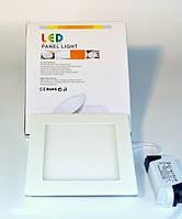 LED PANEL LIGHT 6W Точечный светодиодный светильник квадрат