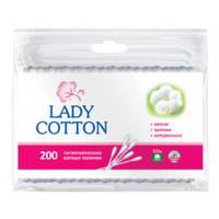 Ватные палочки Lady Cotton гигиенические 200шт