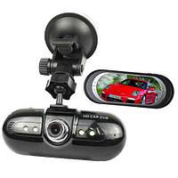 Видеорегистратор с ночной съемкой L 5000, камера 3 Mega Pixels CMOS 1280х720, экран 2,8 дюйма