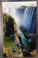 Газовая колонка Виктория JSD 08 дисплей, стекло, водопад