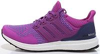 Женские кроссовки Adidas Ultra Boost (адидас ультра буст) фиолетовые
