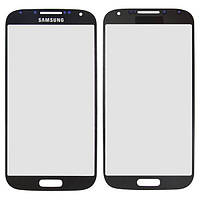 Стекло сенсорного экрана Samsung i9500 black Galaxy S4