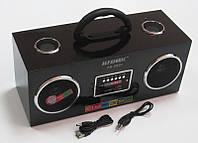 Акустическая колонка  Alfasonik AS-8939, MP3/SD/USB/FM/, black, фото 1