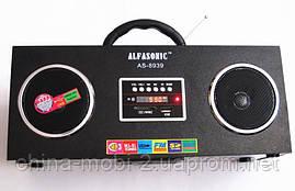 Акустическая колонка  Alfasonik AS-8939, MP3/SD/USB/FM/, black, фото 3
