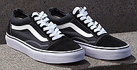 Кеды Vans old skool black white (ЧЕРНЫЕ)