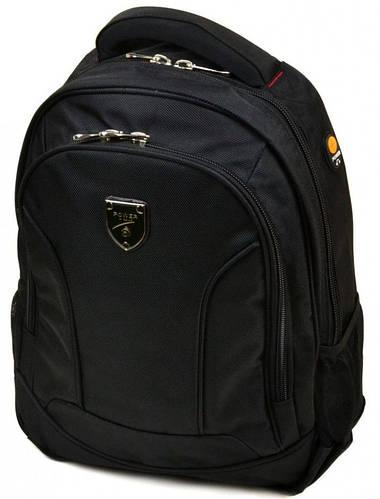 Городской удобный рюкзак полиэстер 22 л. Power In Eavas 5202 black (черный)