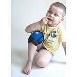 Пов'язку на колінний суглоб дитячий Алком 4035к з ребрами жорсткості, фото 3