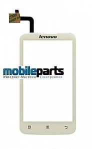 Оригинальный Сенсор (Тачскрин) для Lenovo A316i (Белый)