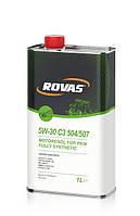 Моторное масло Rovas 5W-30 C3 504/507 (1л)