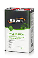 Моторное масло Rovas 5W-30 C3 504/507 (4л)