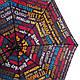 Разноцветный женский зонт, полуавтомат HAPPY RAIN (ХЕППИ РЭЙН) U42275-1 Антиветер!, фото 4