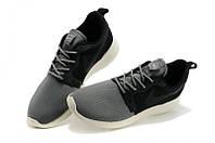 Кроссовки Nike Roshe Run Grey Black мужские 40