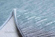 Акрилові килими на підлогу бірюзово-блакитного цветав