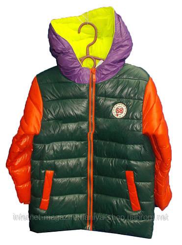 Детская куртка на мальчика (4-8 лет). Осень