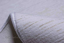 Акриловий килим у Харкові білий з бежевими вкрапленнями