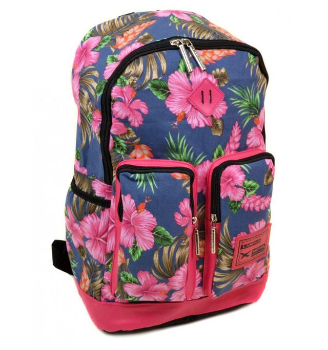 Женский рюкзак в ярких цветах Lanpad